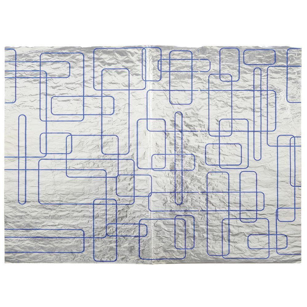 """WRAP, FOIL, SANDWICH, 13 X 10-1/2""""BLUE PT"""