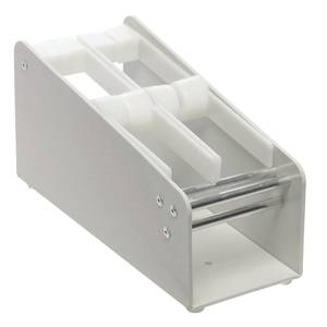 "DISPENSER, LABEL, PLASTIC, (2) 1"" SLOTS"