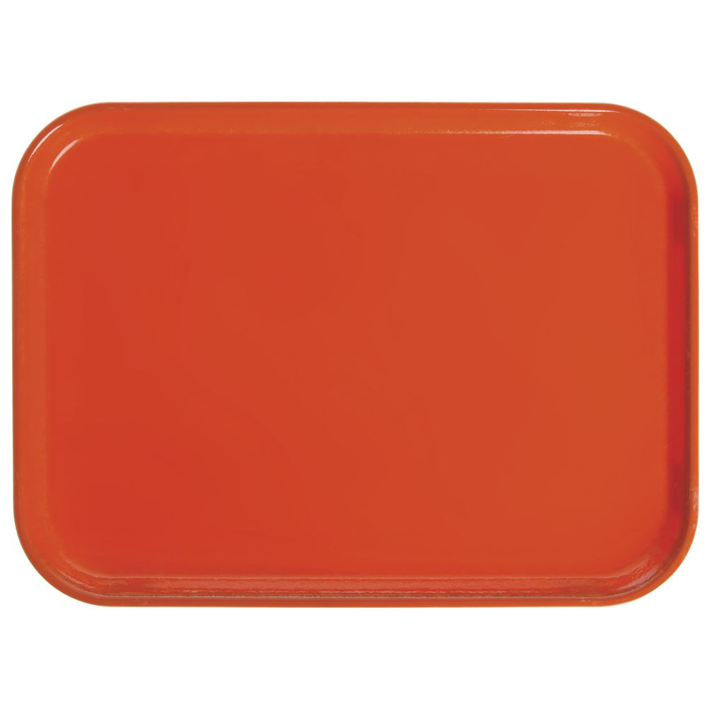 """Cambro Camtray® Fiberglass Tray Citrus Orange 16""""L x 12""""W"""