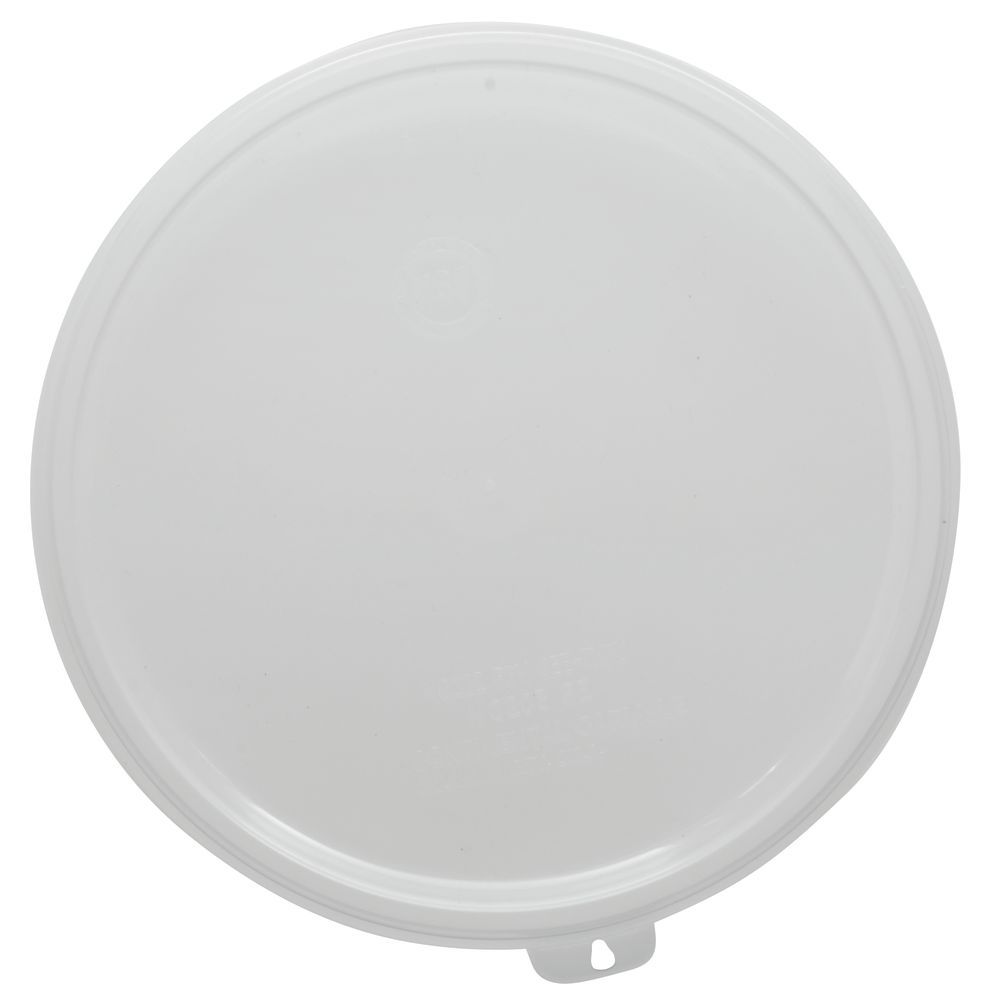 "Carlisle Supreme SAN Crock Lid  Compatible with 1.5 qt or 2.7 qt Capacity in Clear 6 1/8""D"