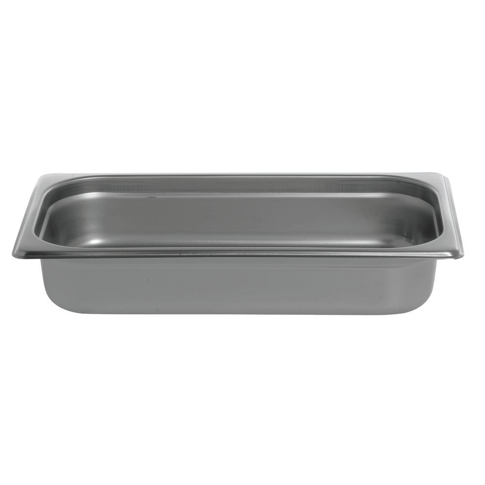 Third Size Steam Table Pan  2 1/2 Inches Deep