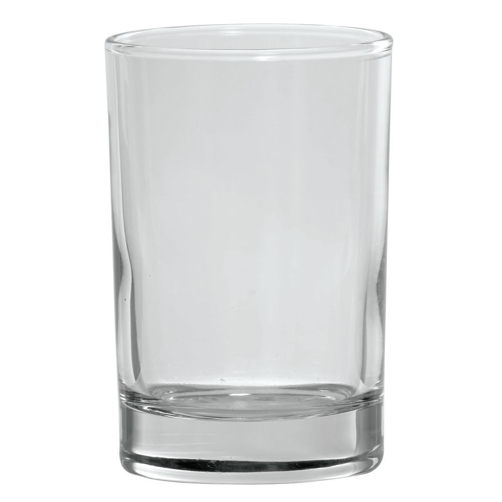 GLASS, HEAVY BASE, WATER, 5.5 OZ