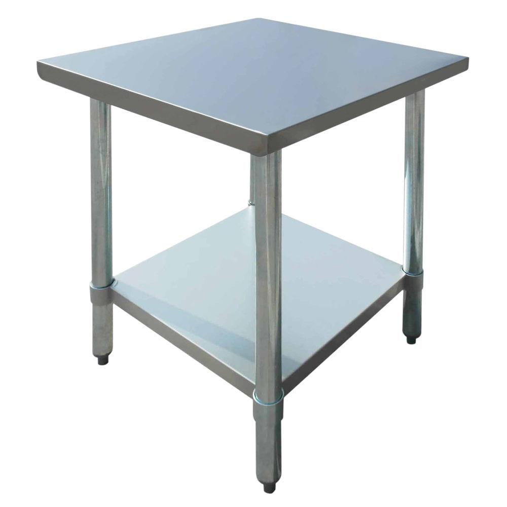 TABLE, S/S, 24X24X34