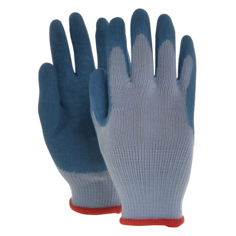 GLOVES, PALM COATED, POLY-CTN W/LATEX, SMAL