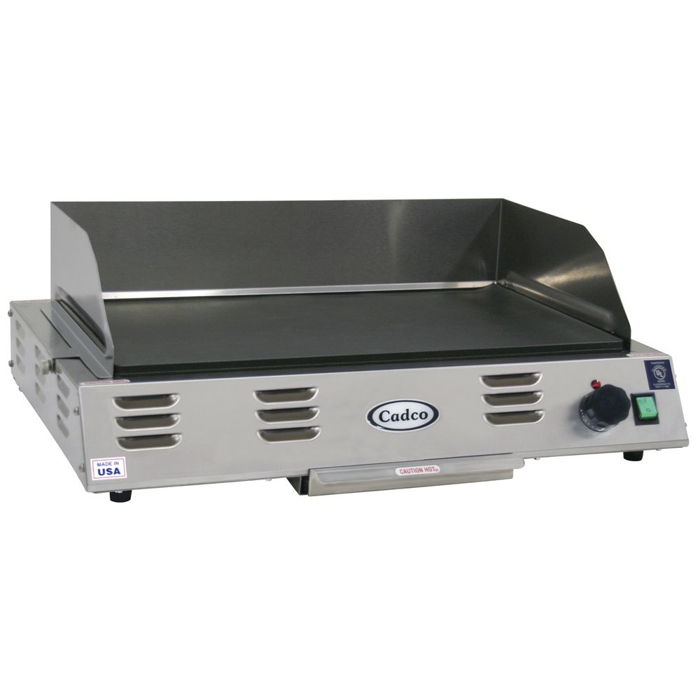 GRIDDLE, COUNTERTOP, STAINLESS, 21X12