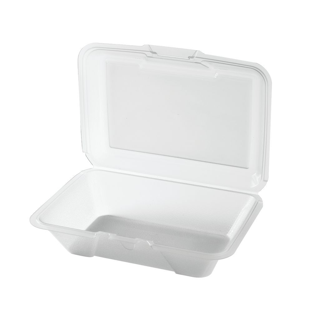 G E T  1 Compartment Clear Polypropylene Eco-Take Out Container - 9