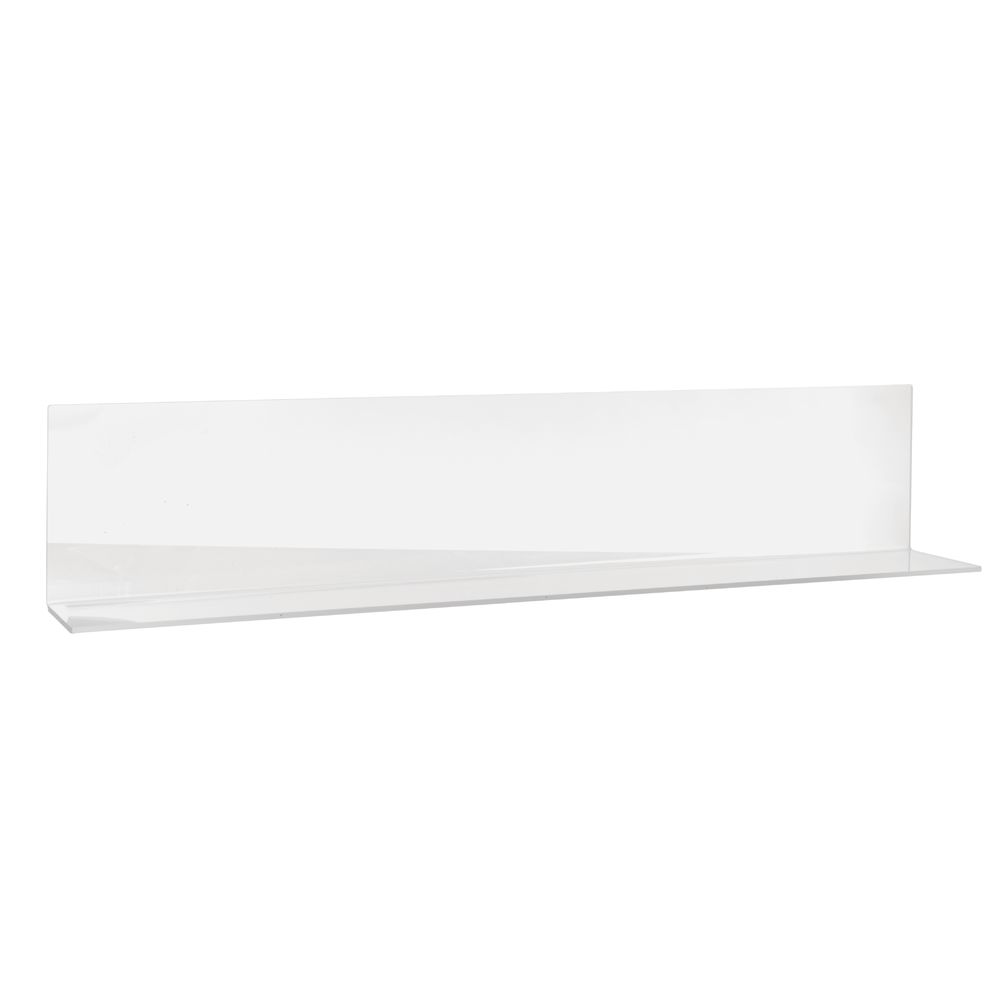 "DIVIDER, SOLID, OPEN END, 30"", CLEAR"