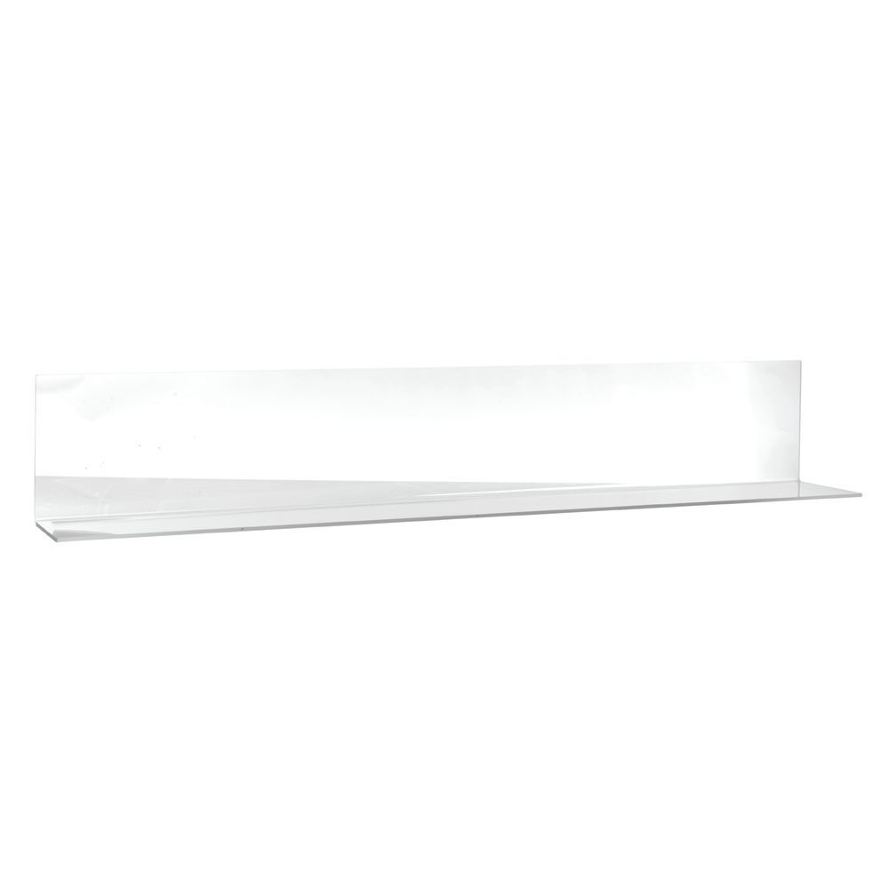 """DIVIDER, SOLID, OPEN END, 36"""", CLEAR"""