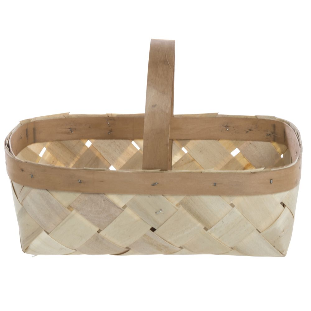 8 QUART SPLIT BASKET-PLAIN