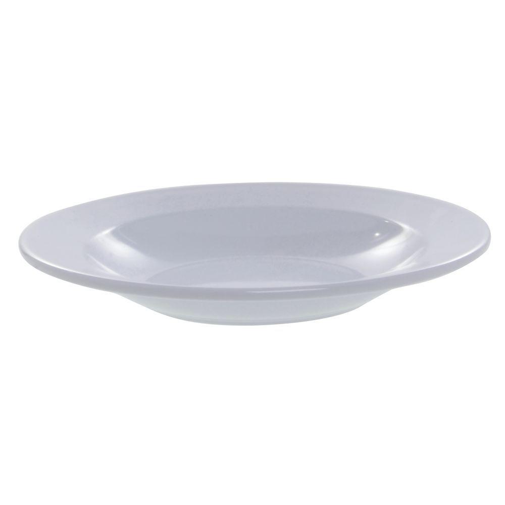 |Elite Rio Mid-Rim Pasta or Soup Bowl 18 Oz White Melamine