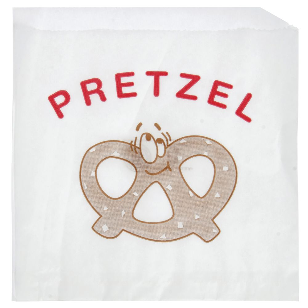 BAG, PRINTED PRETZEL