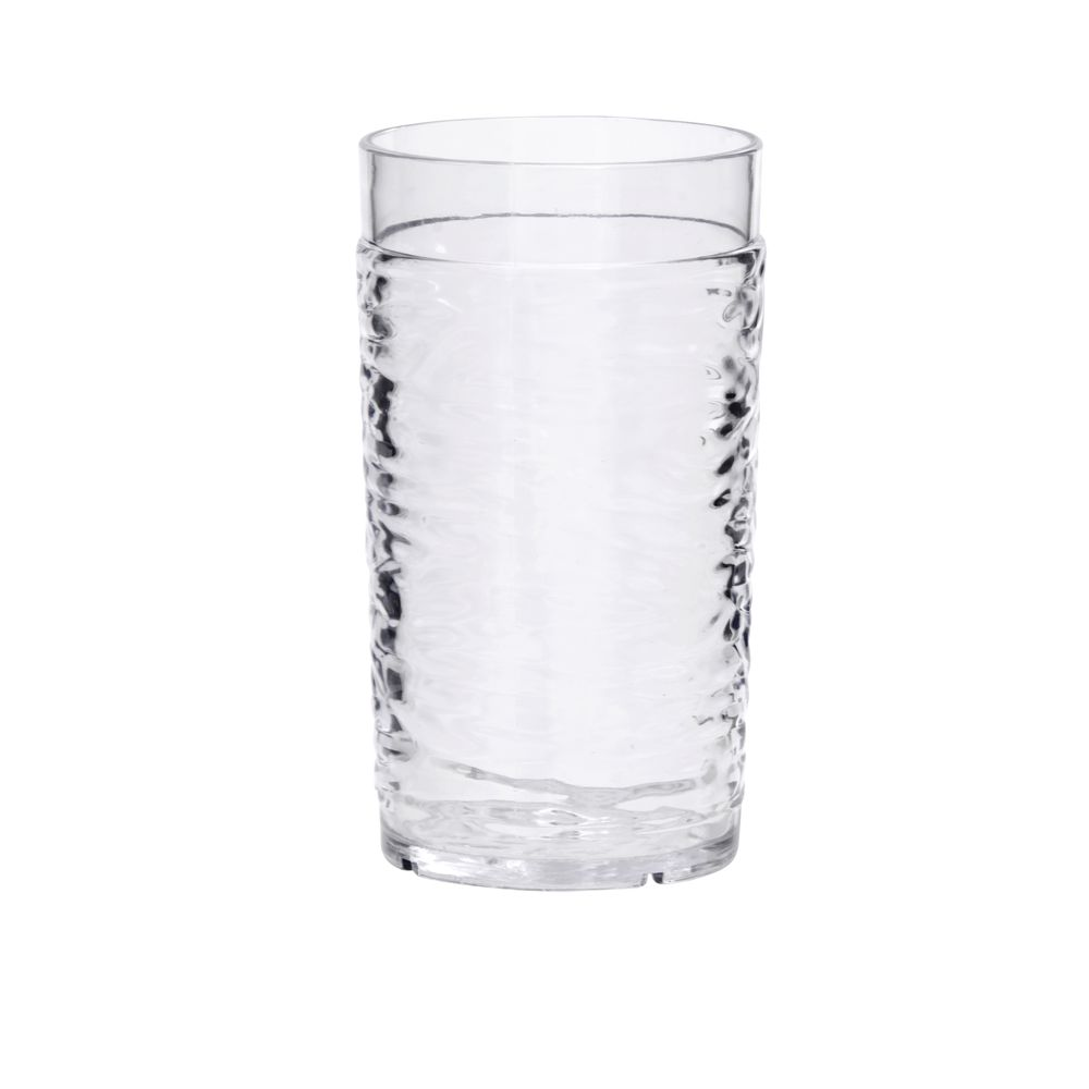 Hubert® Watermark Clear Plastic Tumblers 8 Oz