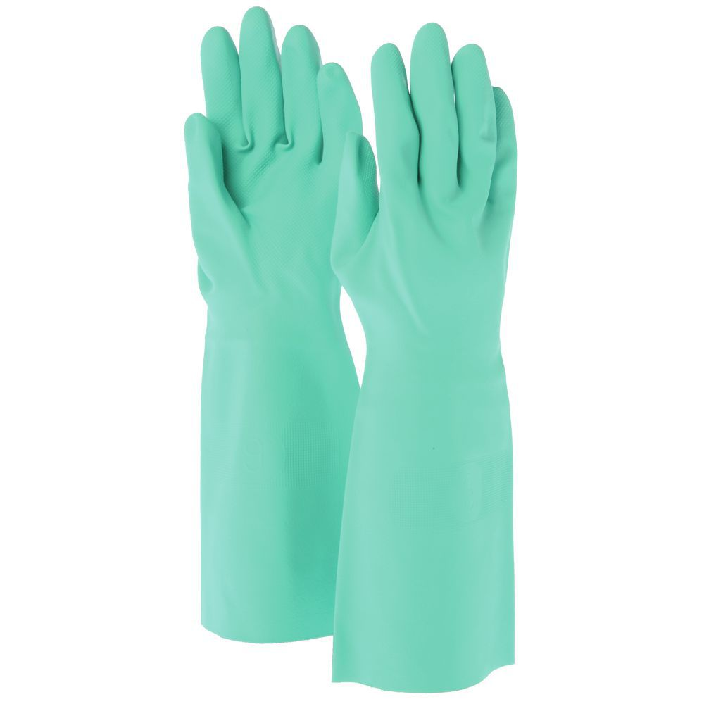 """GLOVES, NITRILE, UNLINED, SIZE 10/XL, 18"""""""