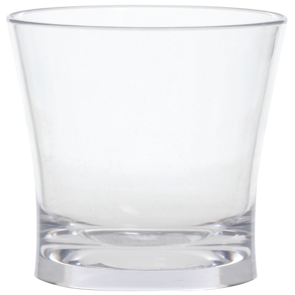 GLASS, ROCKS/JUICE, PLASTIC, ALIBI, 9 OZ