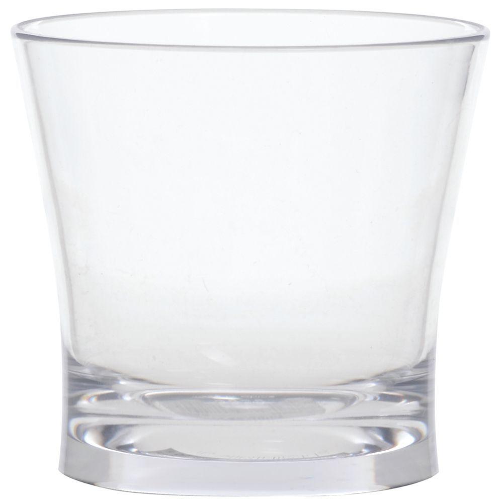 GLASS, ROCKS/JUICE, PLASTIC, ALIBI, 9 OZ
