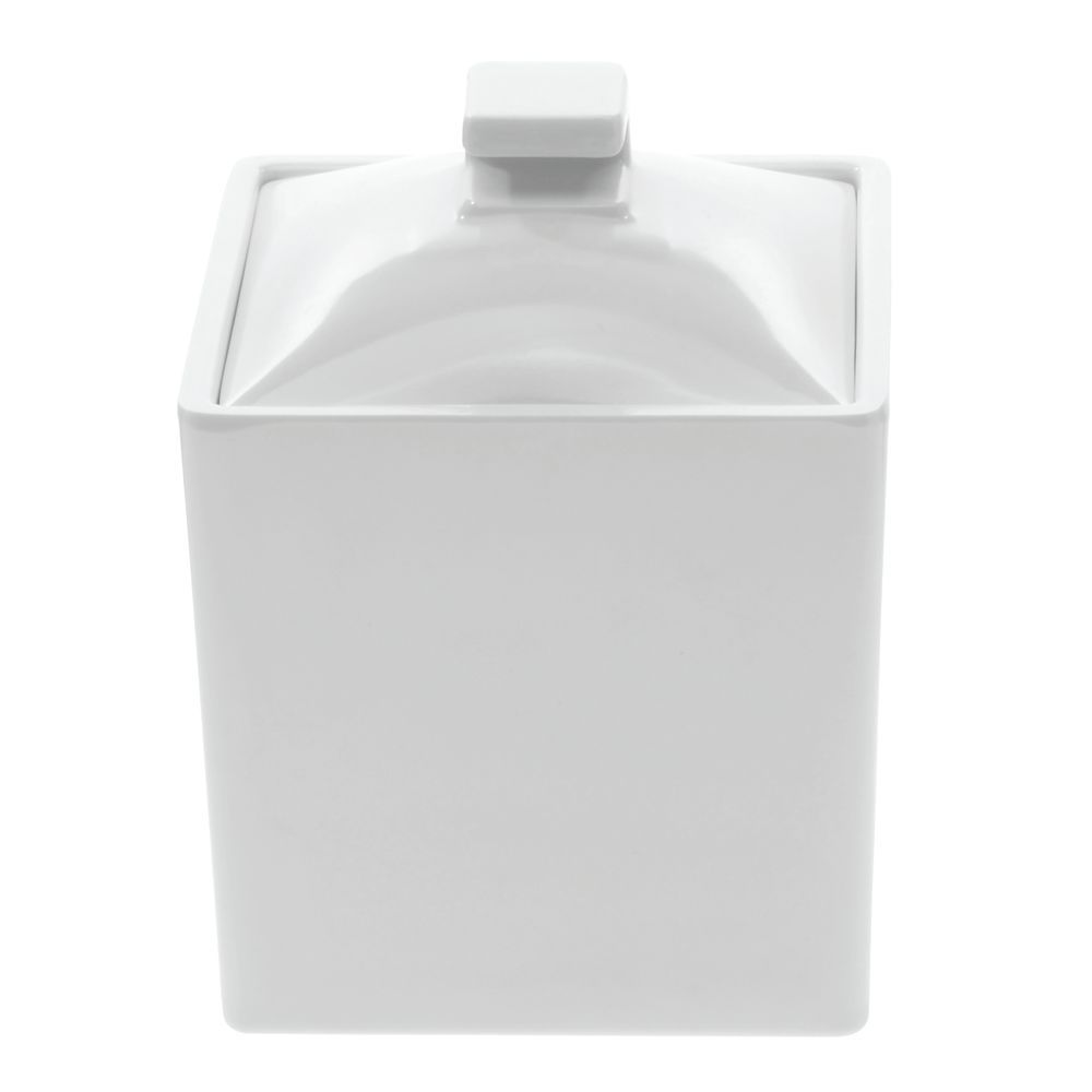 White Jars with Lids