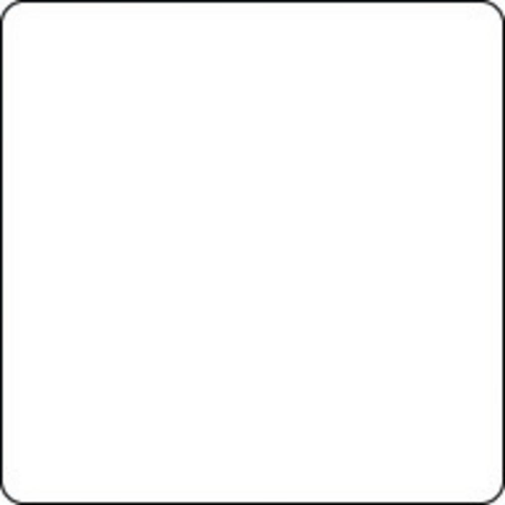 Expressly HUBERT® Plain White 9-Up Laser Labels - 2 3/4