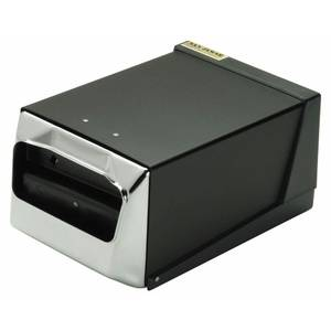 DISPENSER, NAPKIN, CHROME/BLK, COUNTERTOP