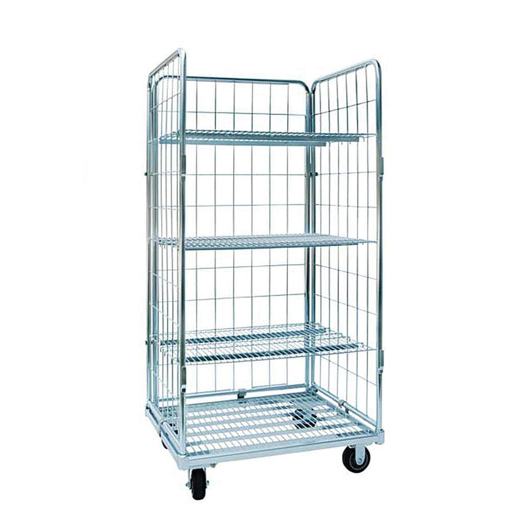 Lafayette Wire Narrow Open Front Wire Roll Cart - 48\