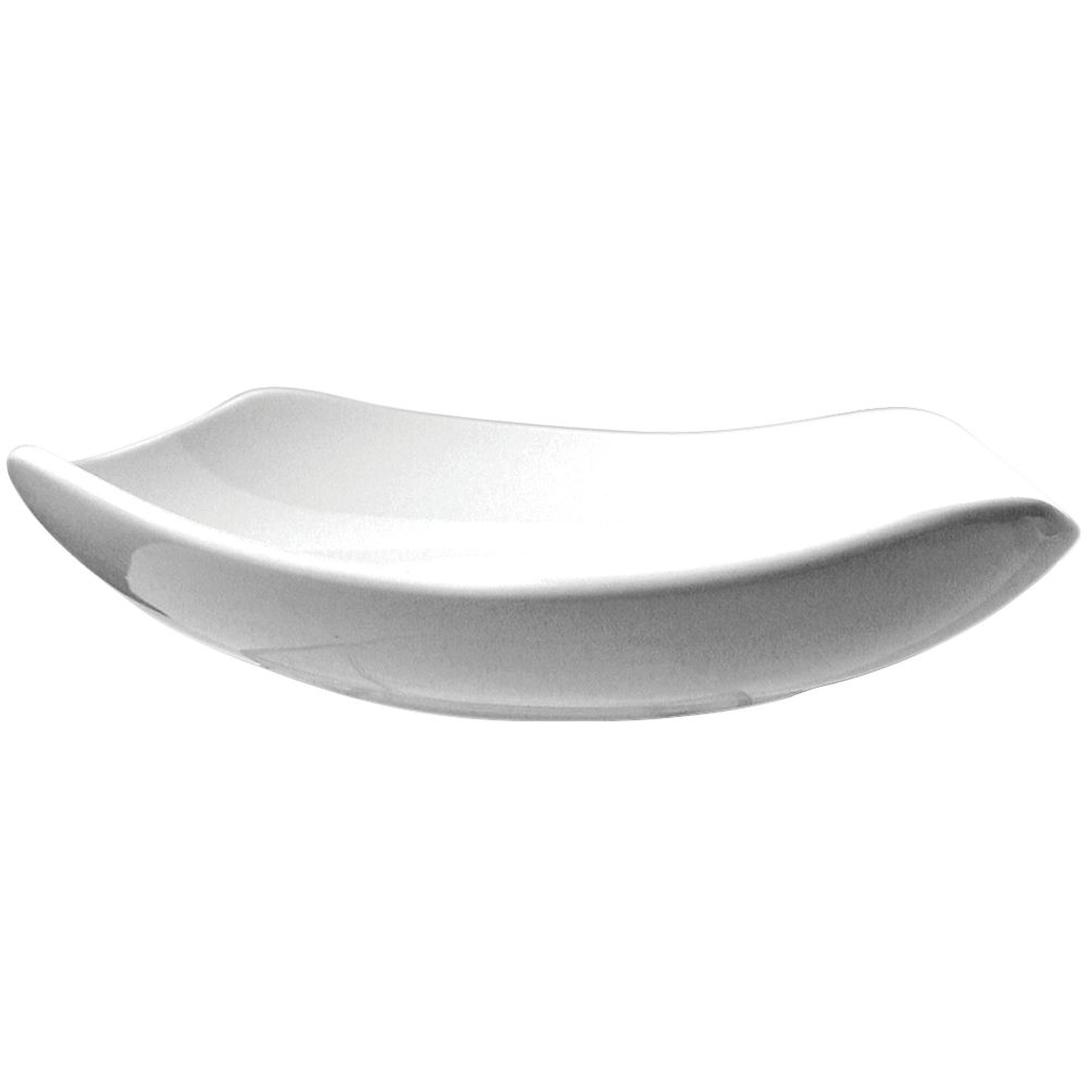 PLATE SOUP RIMMED PORCELAIN 16 OZ QUAD  sc 1 st  Hubert.com & International Tableware® Quad™ 16 oz Square Warm White Porcelain ...
