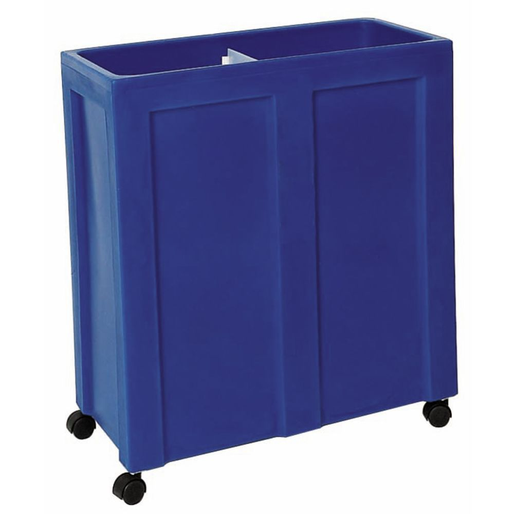Beverage Ice Tub with Blue Exterior