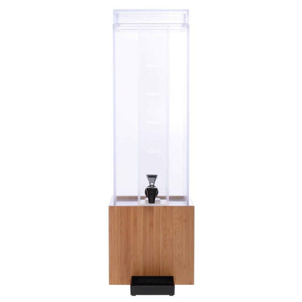 DISPENSER, INFUSION, 3 GAL, W/BAMBOO BASE
