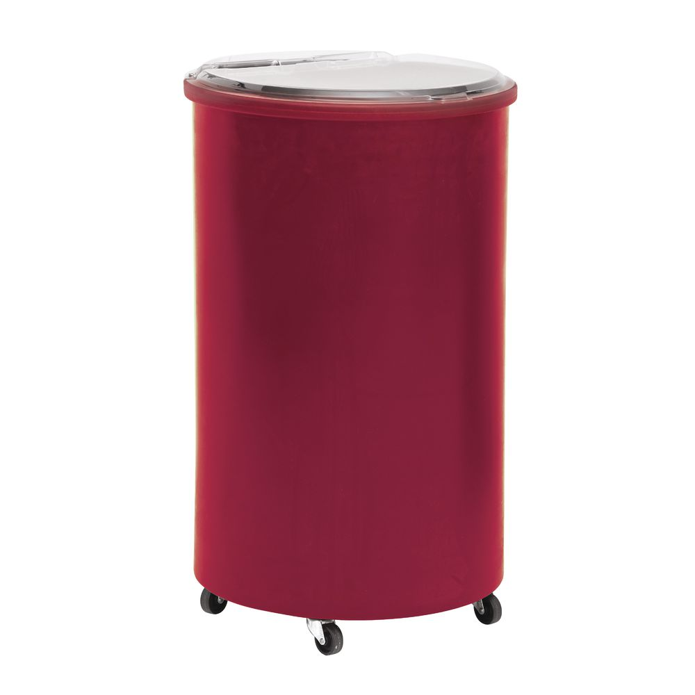 Red Round Beverage Cooler
