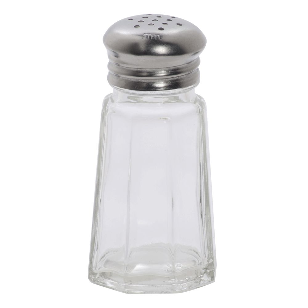 American Metalcraft 1 Oz Glass Salt And Pepper Shakers With