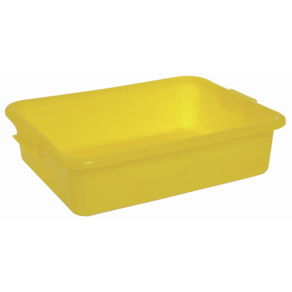 "Food Boxes Solid 20""L x 15""D x 5""H Yellow"