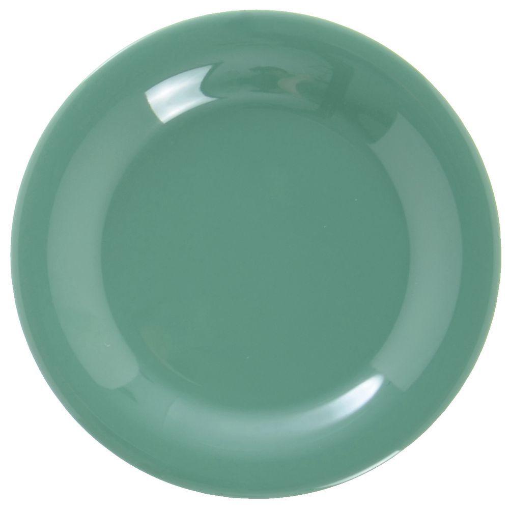 MARDI GRAS GREEN MELAMINE  sc 1 st  Hubert.com & G.E.T. Diamond Mardi Gras™ Rainforest Green Melamine Dessert Plate ...