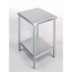TABLE, LG. UTILITY W/OUT CASTERS, 24X36X31