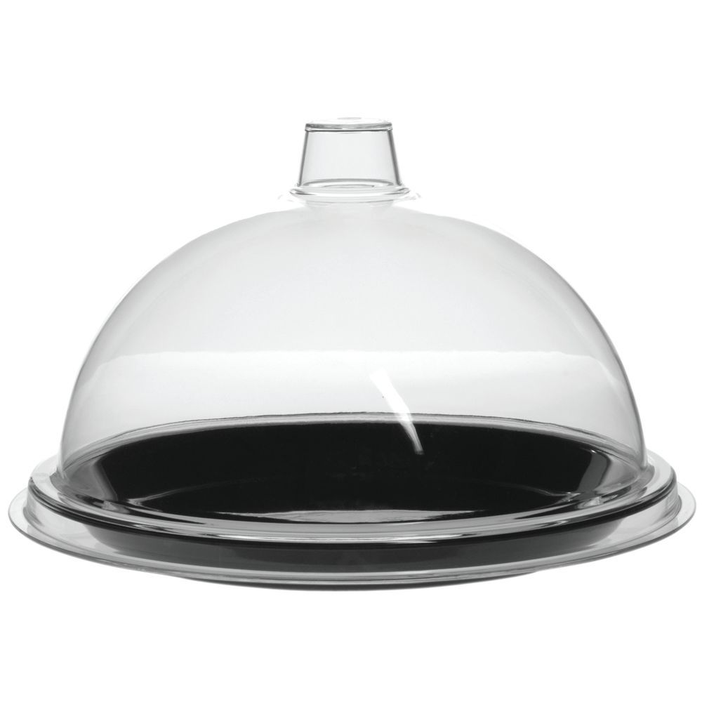 Black Tray with Dome Matches Any Area