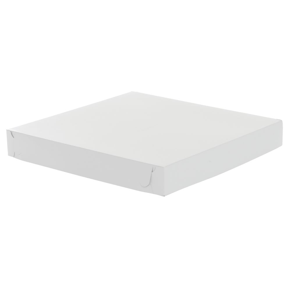 "Plain Pizza Box 14""L x 14""W x 1 7/8""H White"