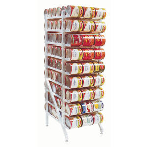 RACK, ALUMINUM CAN DISPENSING RACK