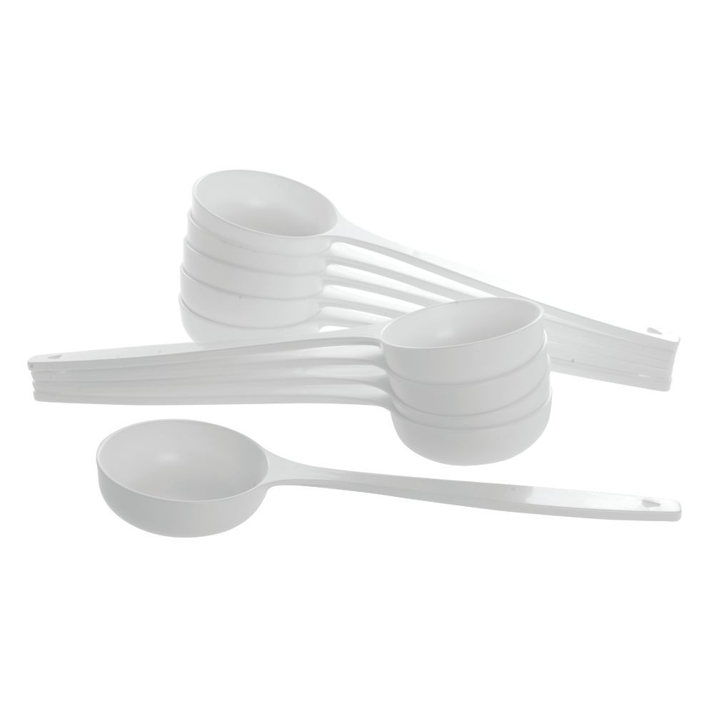 "Solid Spradle 6 oz White 13 1/2""L Plastic"