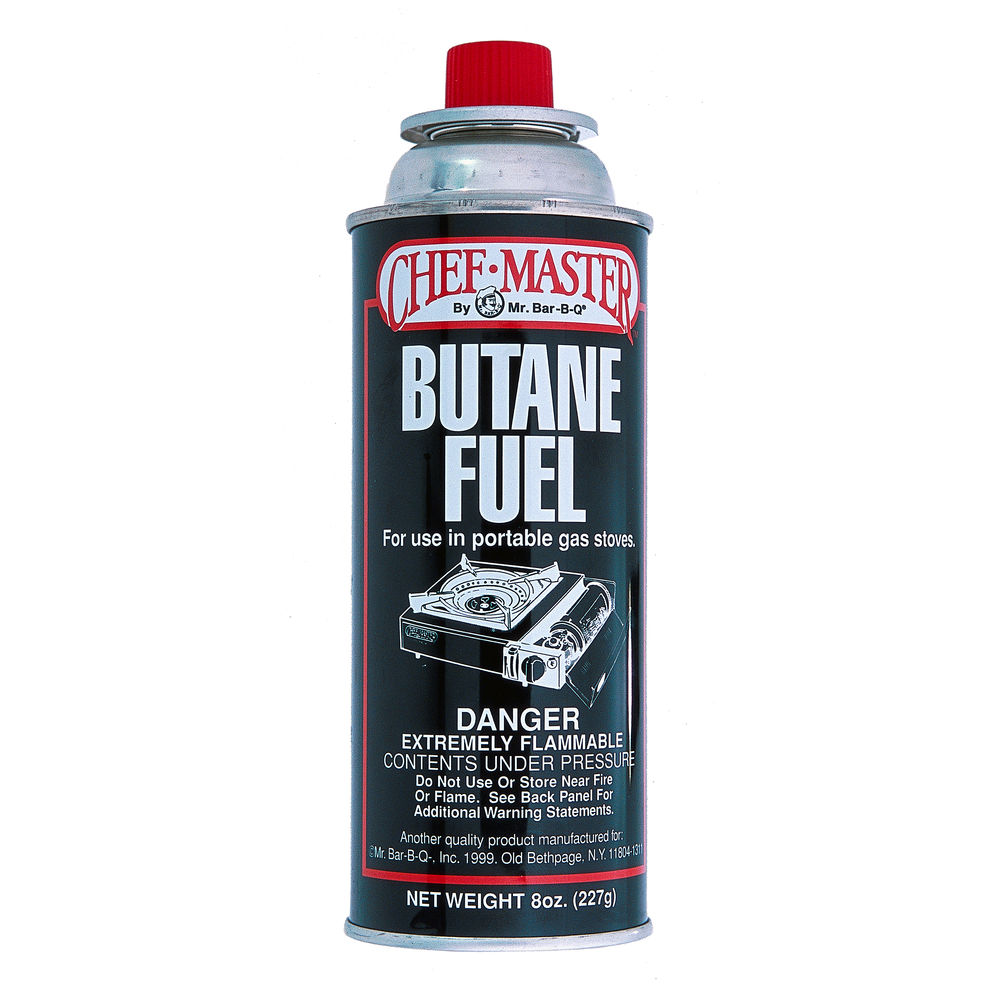 Chef Master 8 Oz Butane Fuel Canister - Case of 12