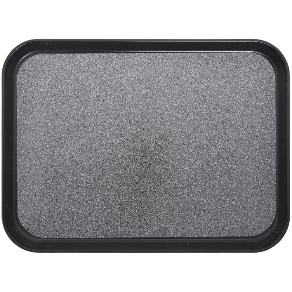 """Cambro Non-Skid Versa Camtray Rectangle Tray in Black Fiberglass  20""""L x 15""""W"""