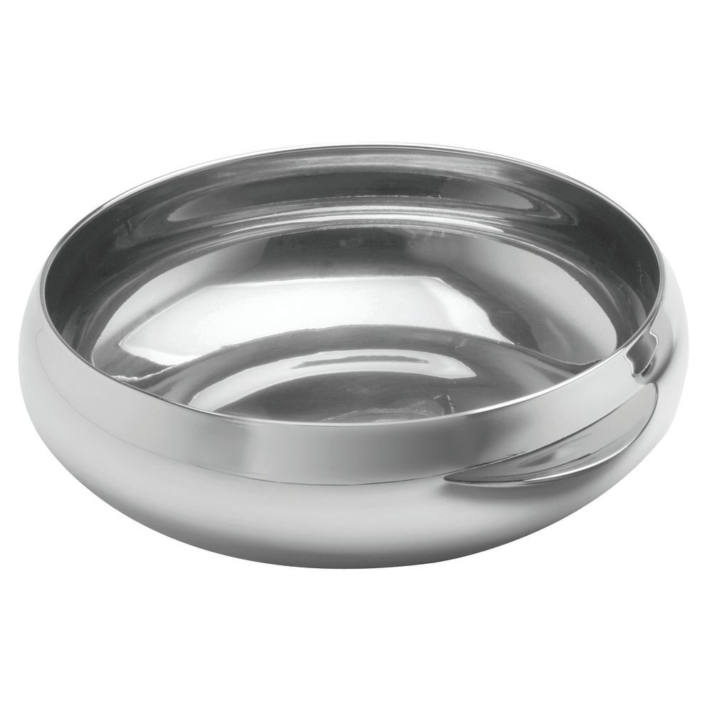 "BOWL, S/S DOUBLE WALL, 9""D X 3""H, 14/1"