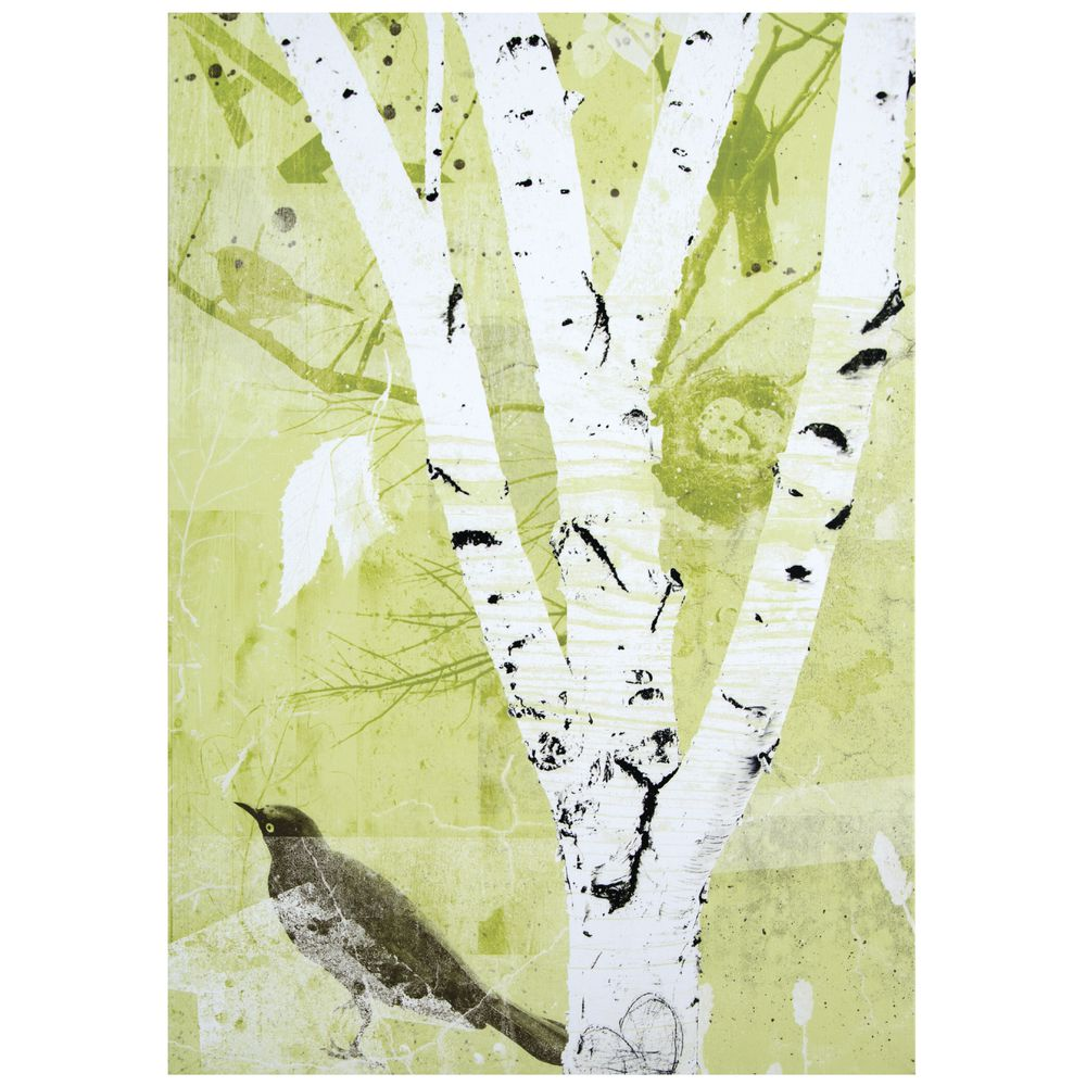 Birch Tree Canvas Wall Art, 32\