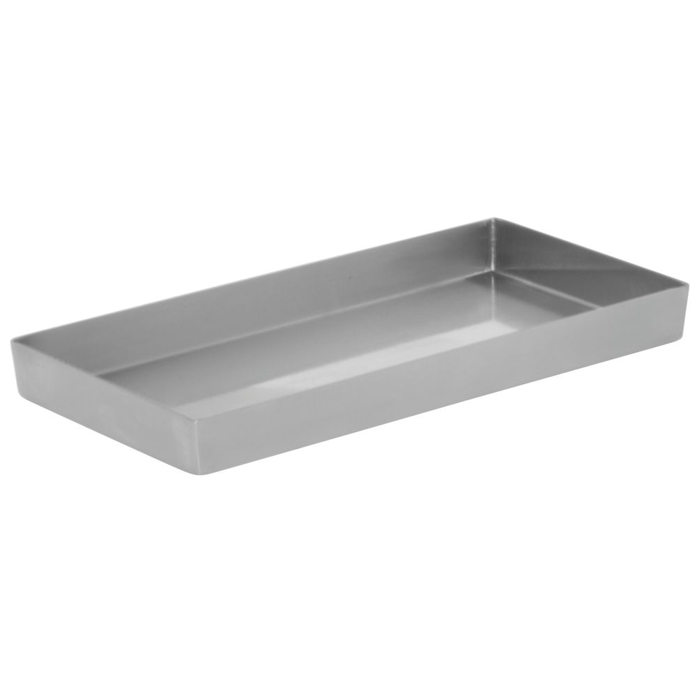 "PAN, 10""X5""X1"", BRUSHED FINISH, 304 SS"