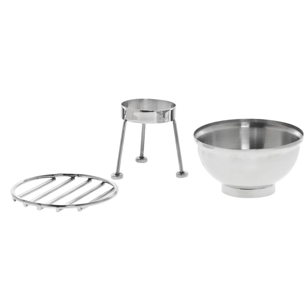 Mini Display Grill Stainless Steel 3 Piece
