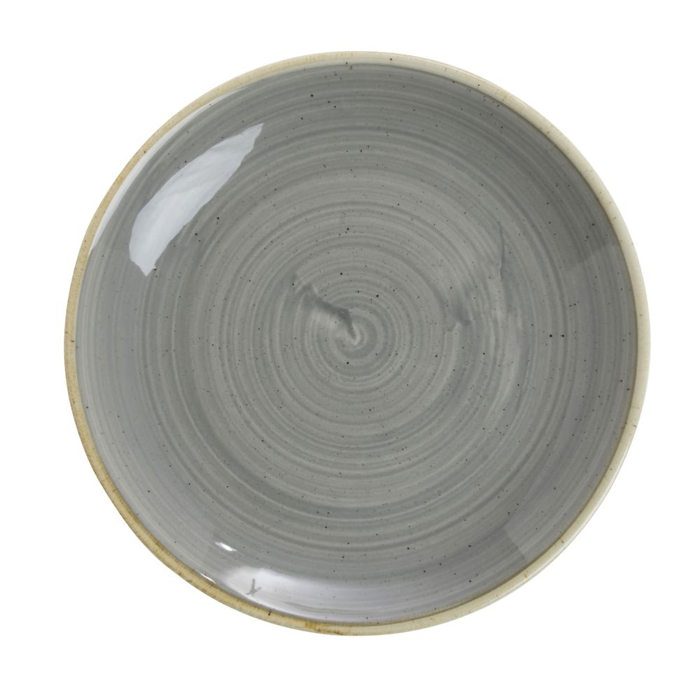 Churchill Super Vitrified Stonecast China Grey Coupe Luncheon Plate - 6 1/2 Dia  sc 1 st  Hubert.com & Churchill Super Vitrified Stonecast China Grey Coupe Luncheon Plate ...