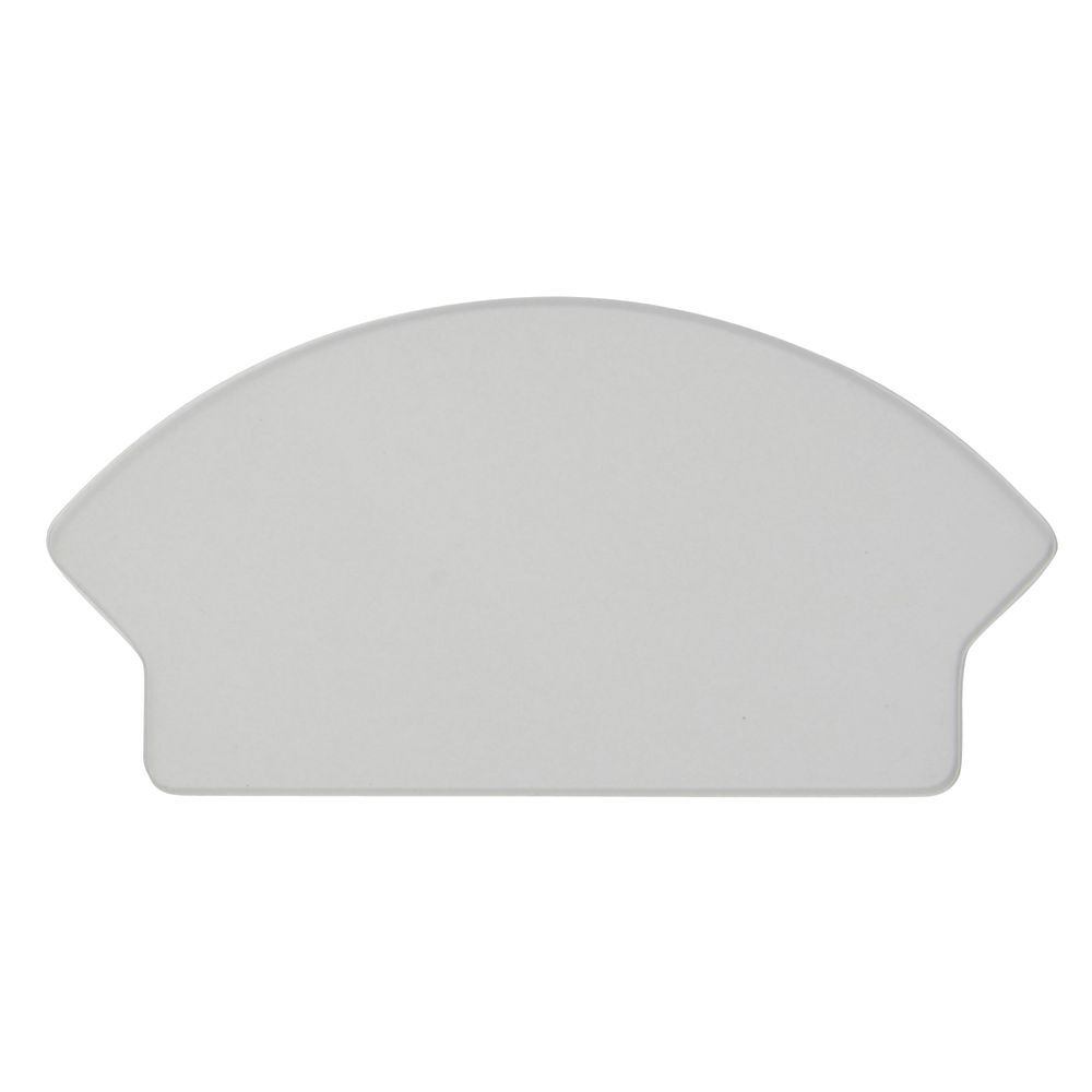 """Clear Dividers for Reversible Clear Plastic Display Tray 9""""L  x 2""""H"""