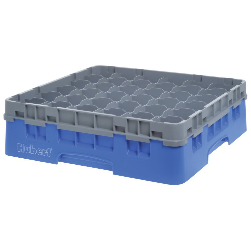 """Cambro Glass Rack Full Size Thirty Six 2 7/8"""" Compartments Maximum Glass Height 4 1/2"""""""