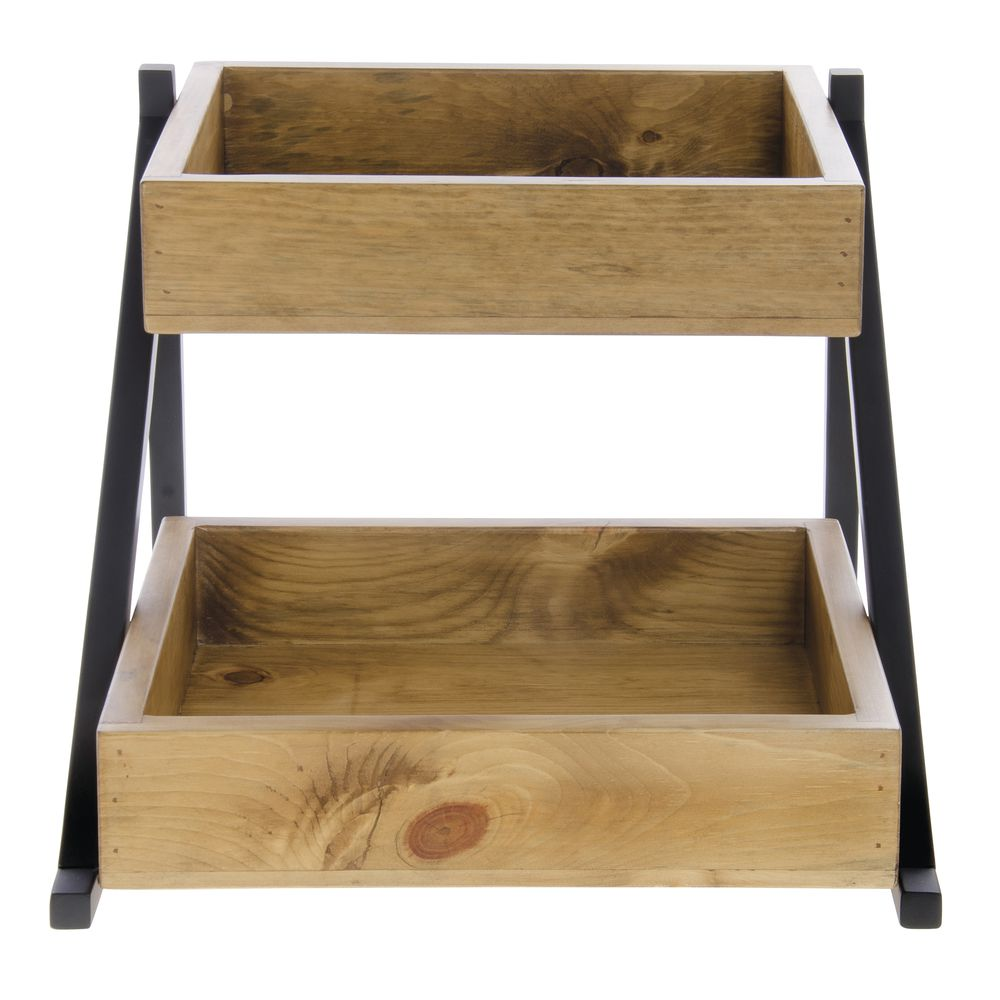 RACK, 2-BIN, MADERA COLLECTION
