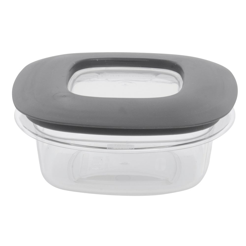 Rubbermaid Premier 1 12 Cup Clear Plastic Food Container With Lid