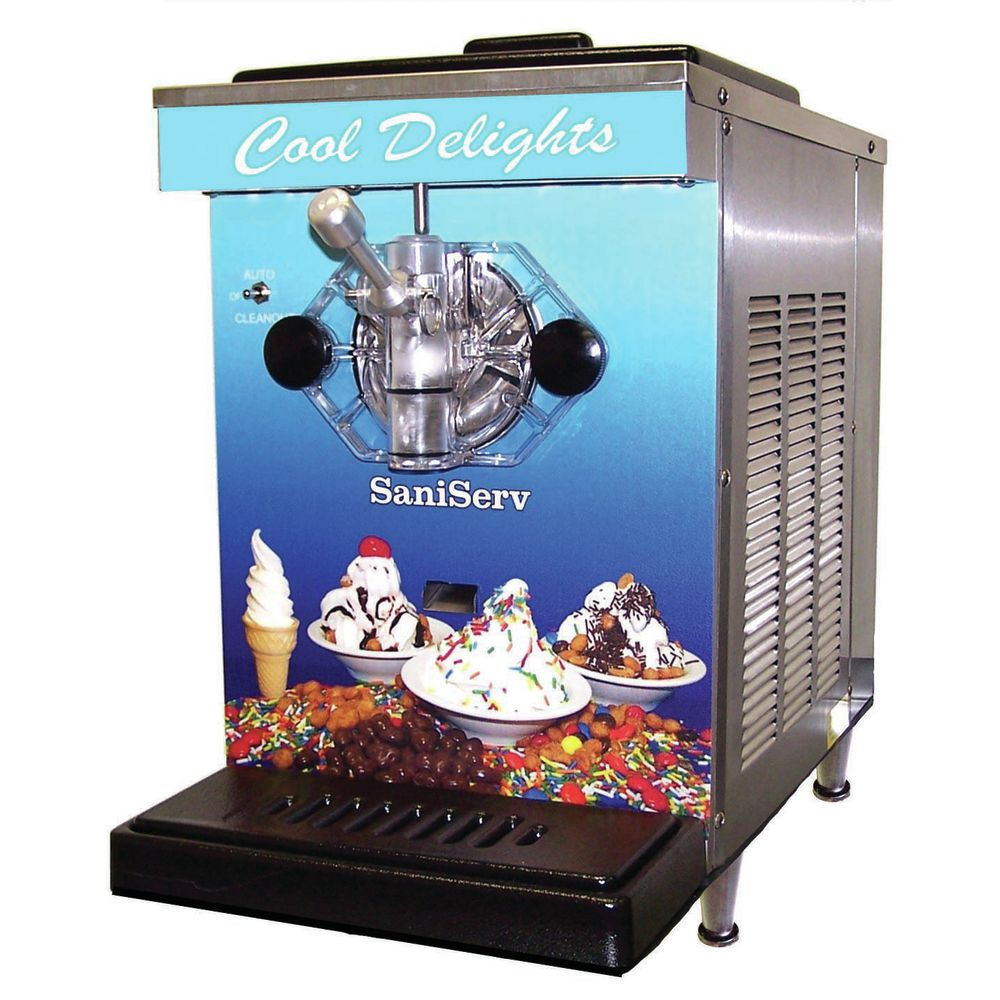MACHINE, SOFT SERV/YOGURT, 7 QT CAPACITY