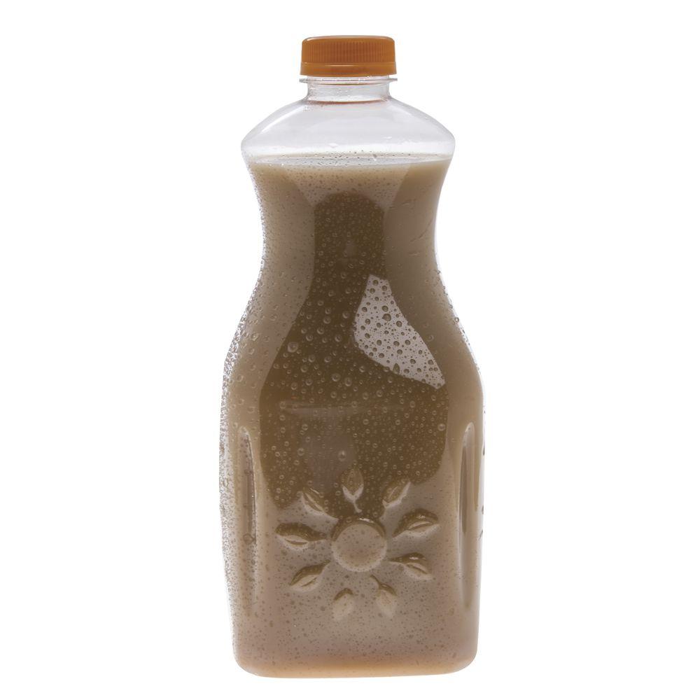Clear Plastic Juice Bottle 64 Oz Case of 40
