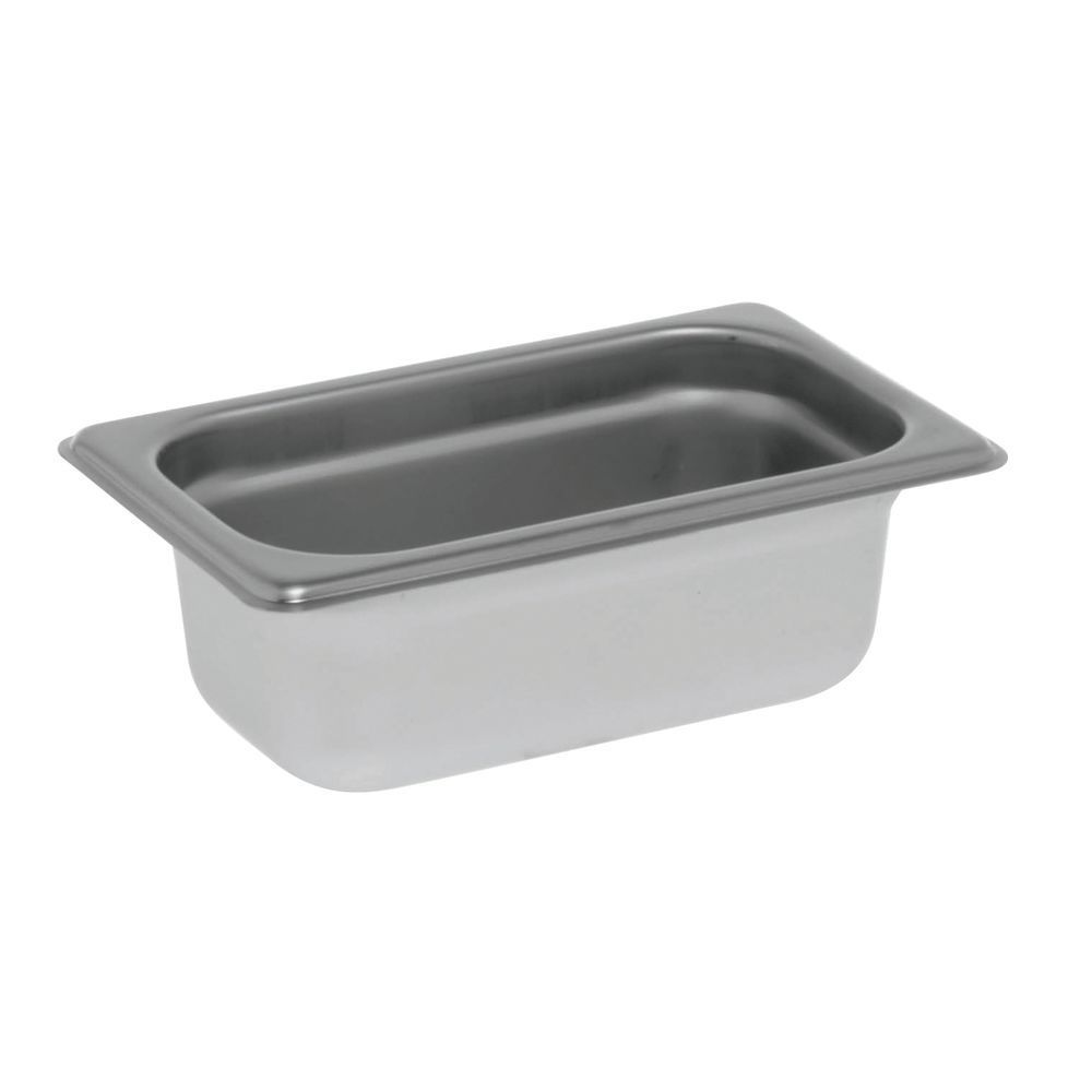 "Hubert® Steam Table Pan 1/9 Size 2 1/2""D"