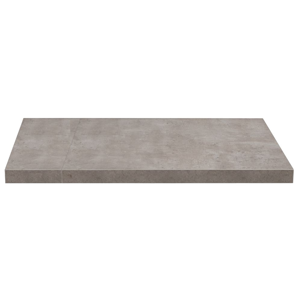 TABLE TOP, RESIN, SQUARE, GREY